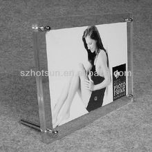 2016 New style acrylic Creative photo frame, Acrylic photo frame, Open Lovely Hot sexy girl photo or photo picture