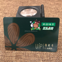 Factory Loyalty Programs 13.56MHZ RFID VIP Promotional Card with magnetic stripe