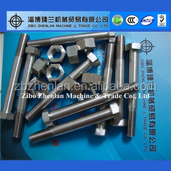 hastelloy c276 hex bolt