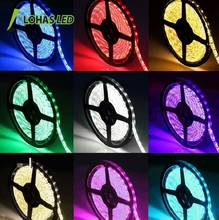 Hot Selling IP65 Waterproof LED Strip Light 12V SMD 5050 RGB Flashing LED Strip for Party Holiday Decoration