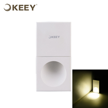 KEEY New Modern Style Hot Sale 3W Led Stair Wall Light Aluminum White Painting QYS2-L3145
