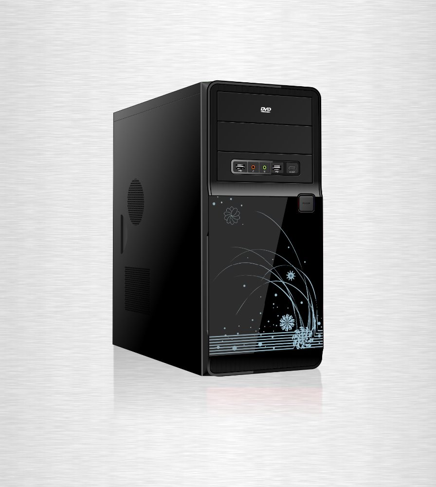 Manufacture and cheaper price computer cabinet with full tower/ 2016 hot selling ATX desktop pc case