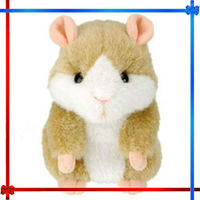 Voice Recording Talking Hamster Plush Toy