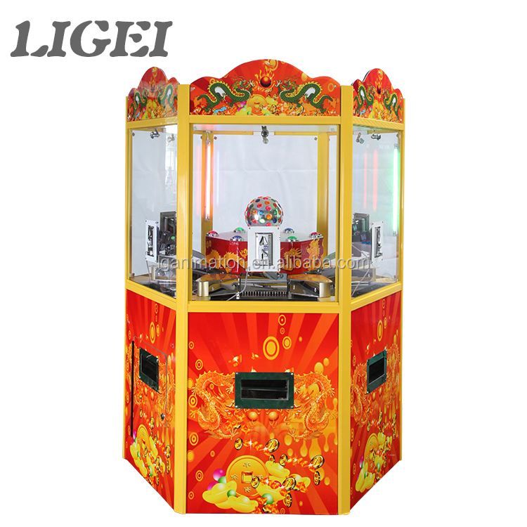 Hot sale Golden Room arcade prize game machine coin operated casino coin pusher game machine