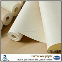 Barca 3709 modern style vinyl wallpaper best selling white cream color wallcovering