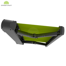 Balcony Electric Retractable Full Cassette waterproof Awning for balcony sunshade