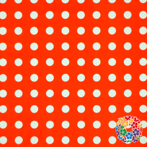 New Style Red Polka Dots Swimsuit Fabric Many Pattern Real Swimming Knit Fabric