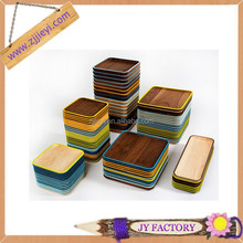 Trendy art minds wood crafts for hotel fast food antique wood serving trays