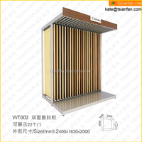 WT002 --- Manufacture display wood tile stand