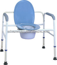 Medical equipment |Commode chair |Extra Wide Steel 3-in-1 Commode Chair / Steel commode