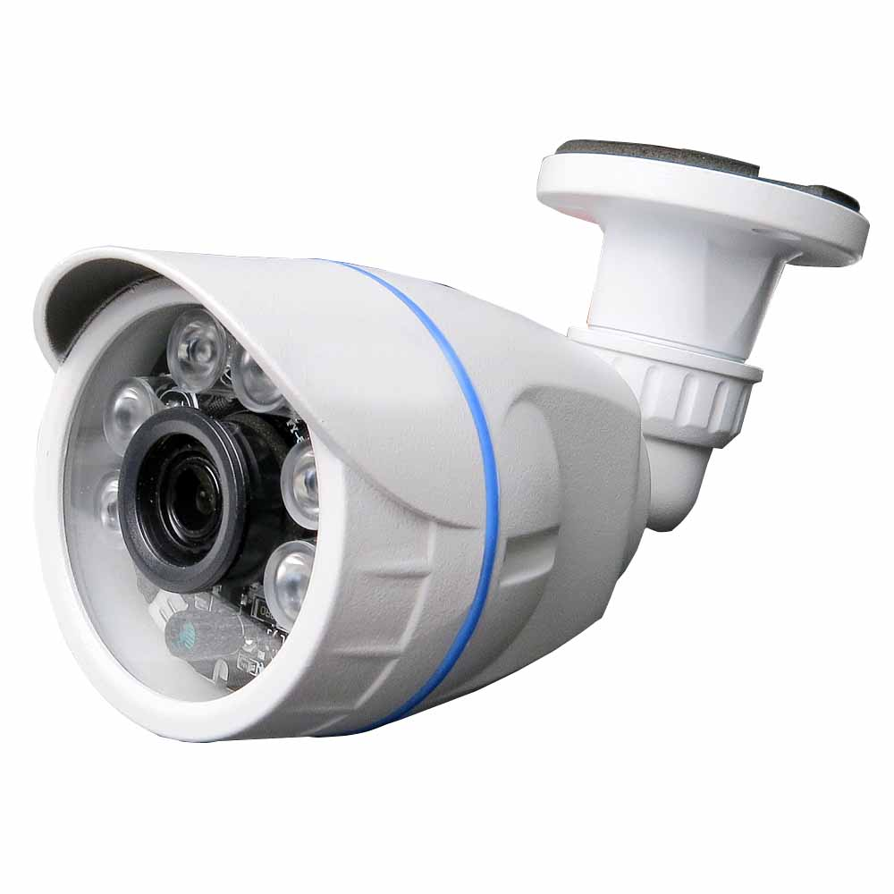 IP66 Outdoor White Metal Case UTC Coaxial Control AHD Camera SONY 1080P 2.0MP 1200TVL IR Cut CCTV Surveillance