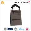 Durable neck leather pouch with RFID blocking