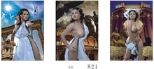 Wholesale incredible hot sexy women god 3d flip lenticular poster