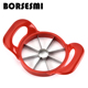 Best selling kitchen gadget fruit slicer fruit corers cutter stainless steel fruit vegetable tools Kitchen Utensils Apple slicer