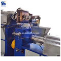 Compactor double stage pelletizing machine for PP PE woven bags