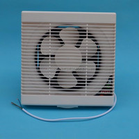 ABS plastic portable exhaust fan with high quality smoke exhaust fans for home bathroom and kitchen