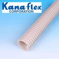 Japanese Kanaflex New Kanaduct,with reinforcement cord.For air supply and discharge for facilities and machines.