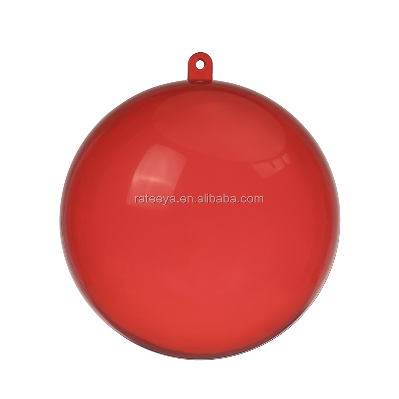 Factory Cheap Price Wholesale High Quality Clear Hollow Christmas Plastic Ball -20CM