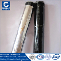 Self stick bitumen emulsion waterproofing membrane/ bituminous waterproof membrane
