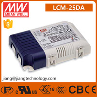 Meanwell 25W Multiple-Stage Constant Current Dimmable LED Driver LCM-25DA