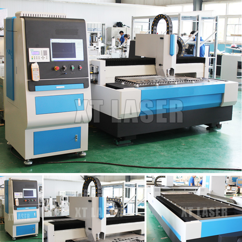 Rofin SPI Raycus IPG 500W 1kw 1500W carbon steel, stainless metal sheet cnc fiber laser cutting machine price