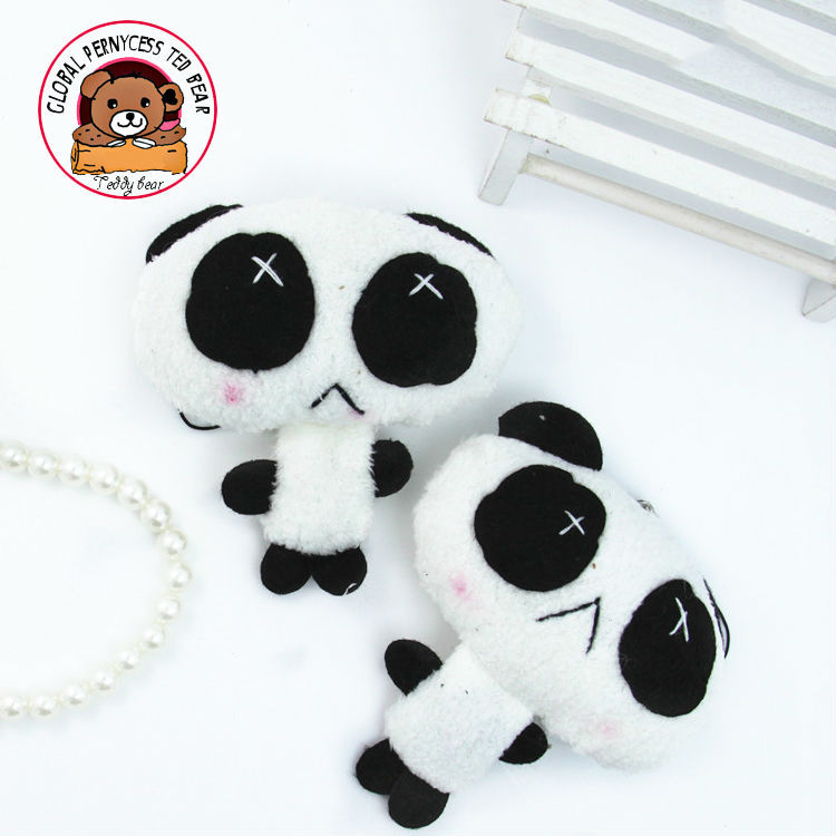 New Arrival!super tiny cute chiese panda bear for Wedding Bouquet,Promotion Gifts