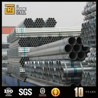 steel pipe with best price schedule 40 hot dip galvanized steel pipe , en10255 s195 hot dipped galvanized steel pipe