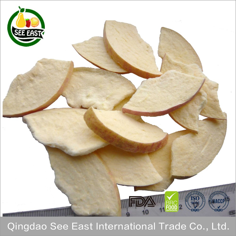 Golden Supplier FD Dried Fruits Price Freeze Dried Apple Chips