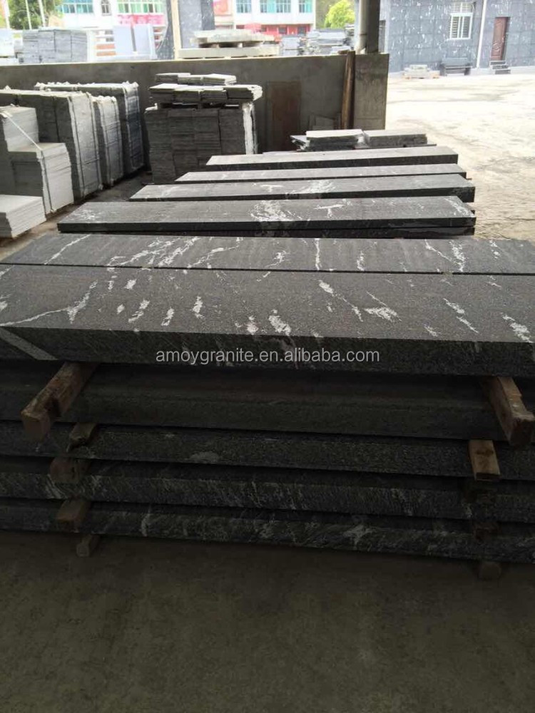 snow grey granite