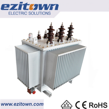 3 phase 11kv 33kv oil immersed electric power high voltage transformer price