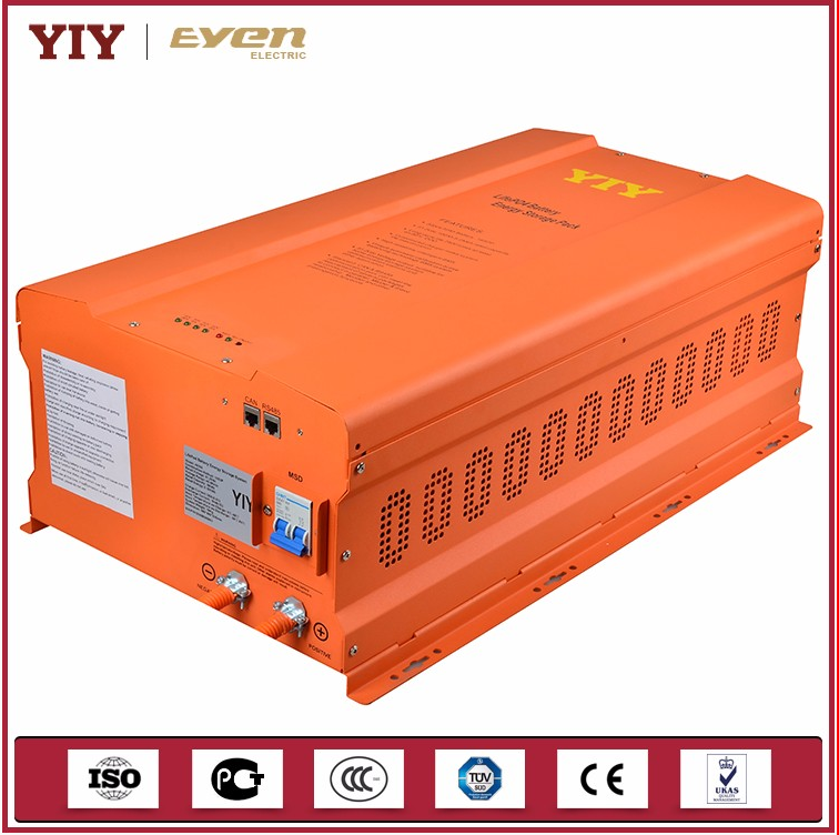 5KWH 48V 100AH LiFePo4 battery energy storage system with BMS