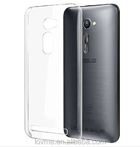 Clear Ultra thin TPU Soft Gel Case Cover For Asus Zenfone 2 ZE500CL 5.0""