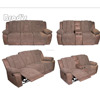 hot sale Lazy boy leather recliner sectional sofa motion sofa