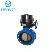 Low Price Wholesale lug Screw type Concentric Flange Butterfly Valve
