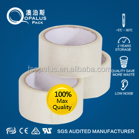 Top Rank Manufactuer Strong <strong>Adhesion</strong> printed sticky clear bopp tape with first hand factory competitive price