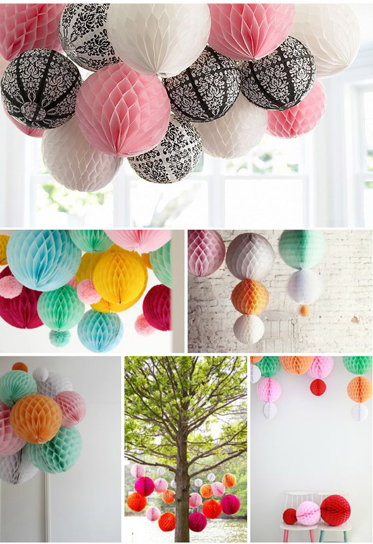 Red Color Heart Shape Tissue Paper Honeycomb Ball Buy Hanging