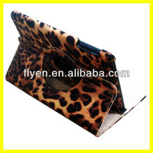 New Leopard-print 360 Rotating PU Leather Smart Case Cover Stand For iPad Mini Wholesale Good Price