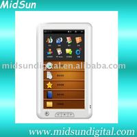 9 inch wifi touch screen android os tft mini digital ebook reader ce rohs color screen windows ce FM and 3G