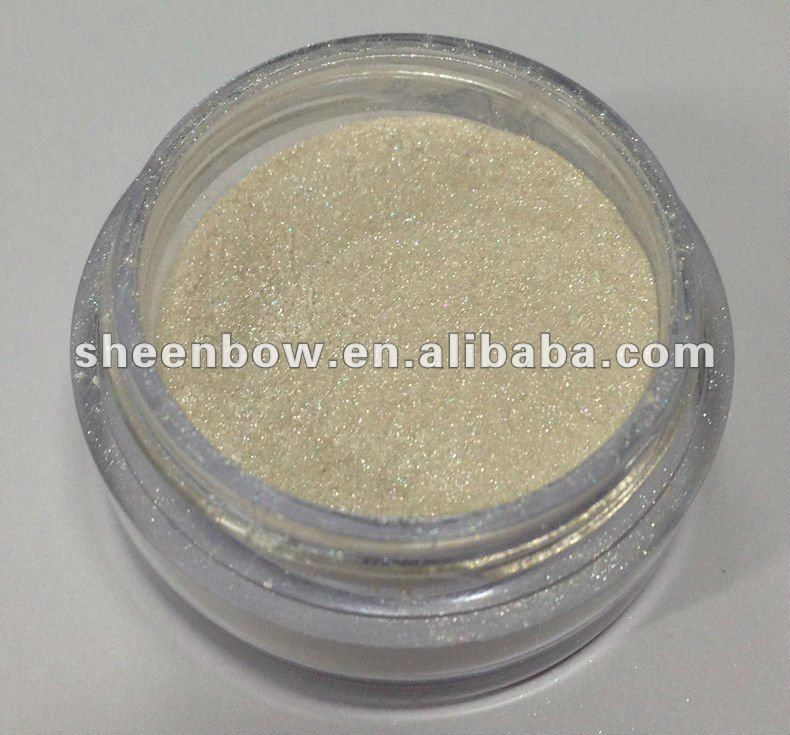 Mica Based Silver Pigment for Makeup