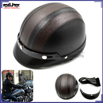 BJ-HMT-002 Motorcross Helmets Bike Bicycle Helmets Open Half Face Goggles for Men Women