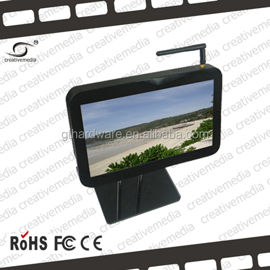 7 inch android tablet wireless 3G commercial multi touch screen with Roof Fixing bus/car media display advertising equipment