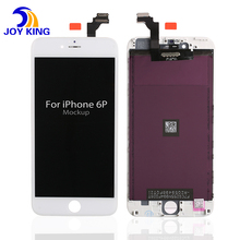 mobile phone spare parts lcd For iPhone 6 Plus lcd flex cable with digitizer assembly