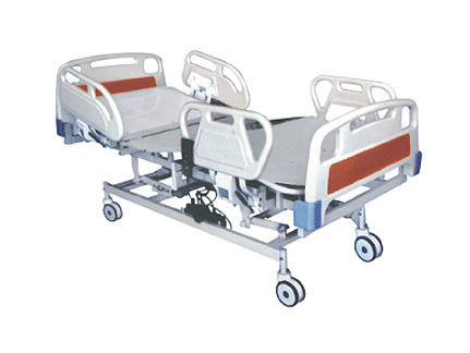 Hand Operated Mechanical Hospital Bed With Three Cranks