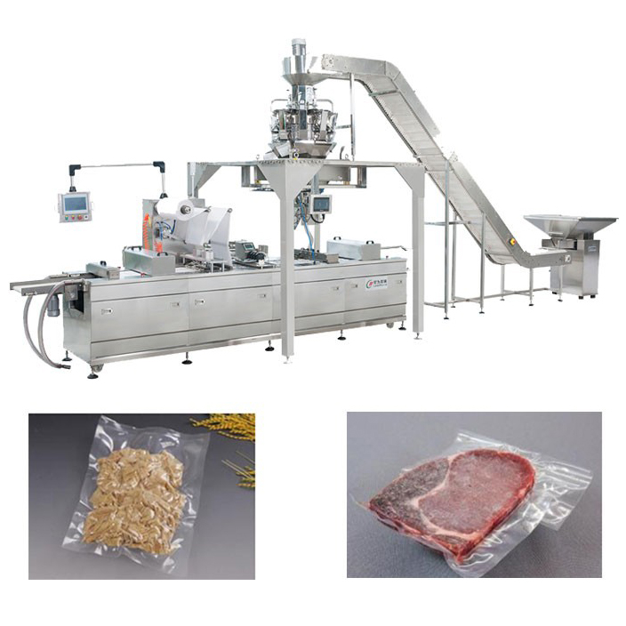 Thermoforming Vacuum Packing Machine for Sirloin steak beef