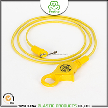 2017 Frokito use-friendly anti-lost yellow color lobster claw casino bungee cord