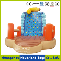 NEVERLAND TOYS Inflatable Rock Climbing Wall Inflatable Caterpillar Climbing Lovely Inflatable Toys for Kids
