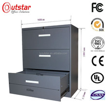 Prefab Commercial Office Openable Drawers Display Wide Steel Drawers Storage Filing Steel Filing Server Rack Cabinet