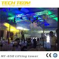 200kg Loading, 6.5m Height Truss Lifting Tower Potabel Telescopic Lighting Truss Stand