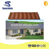 Color Aluminum Coated Metal Roofing Tile / Thaws Asphalt Shingles Prices