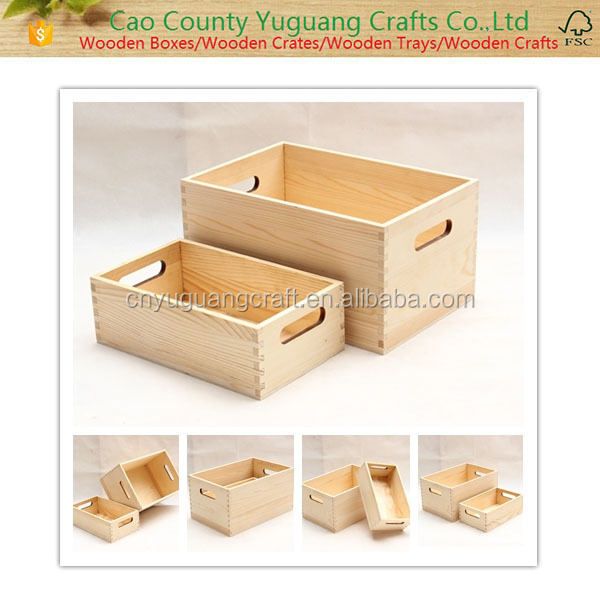 High quality Accept Custom Order and package Use wood ornament storage box art minds display box wholesale cheap wooden box